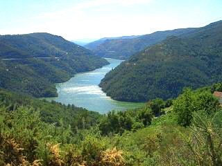 Galicia valley view