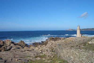 Lighthouse in Muxia, Galicia