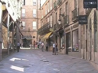 Street in Ourense