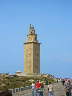 A Coruna lighthouse, the tower of hercules